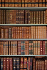 In the library (Treflyn) Tags: old book library hampshire national trust hinton alresford ampner