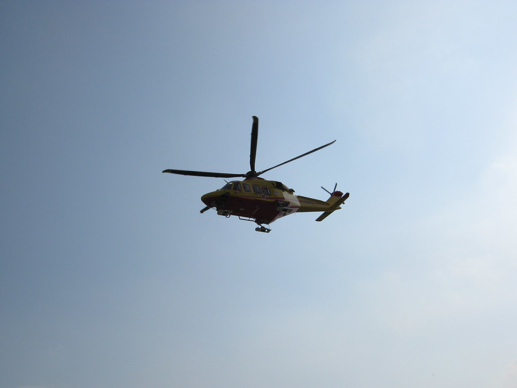Elicottero 118 : Atterraggio elicottero raf e