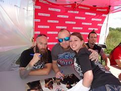 Meeting Five Finger Death Punch! :D (mcdonaldsislove) Tags: death amazing moody five finger ivan band vinyl autograph punch omg meet greet