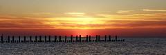 Black Groins (C MB 166) Tags: sunset vacation sky beach strand germany deutschland sonnenuntergang urlaub himmel balticsea groyne ostsee groin zingst fischland mecklenburgvorpommern buhne dars mcpomm