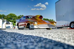 57 Chevy-HDR (Daveyal_photostream) Tags: reflection cars car pits racecar classiccar automobile wheels chevy dragracing sportscar 57chevy customcar nhra dragracer cheverolet ihra slicks raceing 1957chevy cecilcounty ahra replic railer racingmachine automotiveracing topsportsman cecilcountydragway dragstriip coustompaint