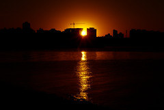 Sun sun sunset (Sabrus Sooz) Tags: city sunset sun sol silhouette contrast atardecer glow ciudad contraste silueta brillo