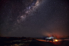By A Fire of Gidgee Coals- Explored (southern_skies2) Tags: camp sky stars fire nissan australia campfire queensland milkyway westernqueensland channelcountry