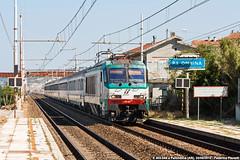 Cercando i 450... (Elmeon) Tags: train ic railway fs intercity ancona trenitalia palombina rfi e402a uicz