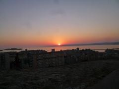 Sunset from Notre Dame de la Garde, Marseille (John Steedman) Tags: sunset france marseille frankreich sonnenuntergang notredame frankrijk francia coucherdesoleil notredamedelagarde フランス puestadelsol massilia 法国 马赛 馬賽 マルセイユ