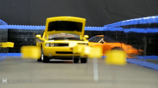 1/18 模型車變成「PAC MAN」!超酷的停格動畫~