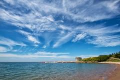 Sandy Cove, Nova Scotia (bontakun) Tags: ocean blue green beach water clouds rocks novascotia cove sandy sandycove canonefs1022mmf3545usm cloudsstormssunsetssunrises