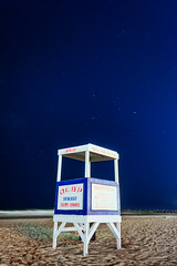 DCP_5124-2 (davidclancyphoto) Tags: oceancity newjersey beach shore stars lifeguard stand nightphotography