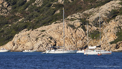 Sardinian Anchorage (Sailor Alex) Tags: boat sailboat sloop vessel sardinia yachting cruising cruisers yacht sea sailing