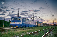 Sometimes you've got to go back (cossie*bossie) Tags: 46 026 bdz bulgarian state railways bulgaria sofia voluyak electric locomotive 060ea le5100 freight train evening ambient