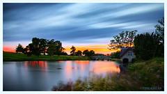 The Boathouse (isitaboutabicycle) Tags: tallaghtphotographicsociety xt10 longexposure sunset boathouse cartonhouse kildare ireland landscape samyang12mmf2ncscs haidand30