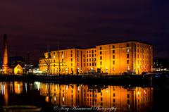 Liverpool Maritime Museum (search instagram phat5toe) Tags: liverpool merseyside museum canningdock night lights water longexposure nikon d7000