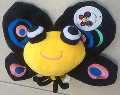 Camelia butterfly stuffed toy (WendyGA) Tags: perl6 perl logo stuffedtoy butterfly camelia