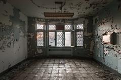 Marlboro Psychiatric Center (ShootFilmStayBroke) Tags: abandoned tudor urbex revival nj urbanexploration asylum hospital psychiatric morgue insanity lobotomy demolished marlboro