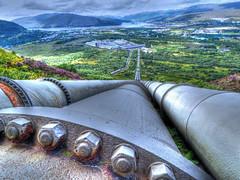 Lochaber Smelter 20 Aug 2016 (purserd99) Tags: lochaber smelter fortwilliam pipeline