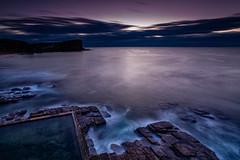 Avalon Sunrise 2 (RoosterMan64) Tags: australia avalon landscape leefilters nsw northernbeaches seascape sunrise longexposure clouds rockpool rocks