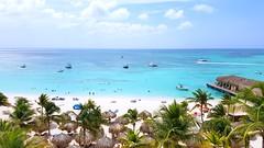 Palm Beach - Aruba (Gabriel Far) Tags: aruba palmbeach beach paradise relax sea caribbean