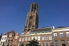 Utrecht, Oude Gracht en Domtoren (Hans Westerink) Tags: utrecht domtoren oudegracht hanswesterink middeleeuwen medieval tower toren