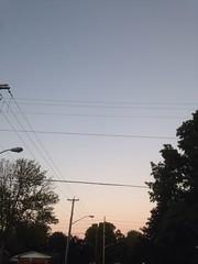 A Short Walk (Kate Thornley) Tags: shilouette pink orange fade purple trees powerlines dusk sunset sky canada ottawa