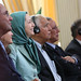 Maryam Rajavi at the celebration of the Relocation of Camp Liberty residents-2