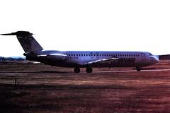 EI-CAS BAC1-11 Ryanair CVT 01-08-90 (cvtperson) Tags: eicas bac 111500 ryanair coventry cvt egbe