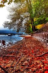 Passeggiata lungo il lago. (franco.56) Tags: colors picture hdr nikond7000 franco sunset lake landscape
