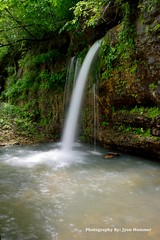 Falling Spring (Photography By: Jyon Hammer) Tags: karst spring cave waterfall