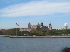 Ellis Island (Quevillon) Tags: newyork newyorkcity manhattan unitedstatesofamerica newyorkharbor newjersey jerseycity ellisisland island statueoflibertynationalmonument building nationalparkservice