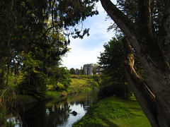 Birr Castle in Reflection (uk_dreamer) Tags: nature natur reflections water river trees castle birr green ireland