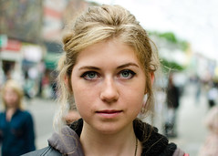 Alice (62/100) (drmaccon) Tags: street portrait london 35mm prime student nikon alice camden streetportrait stranger belgian strangerportrait 100strangers d5100 drmaccon
