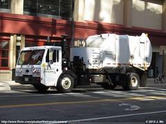 City of Minneapolis Garbage Truck 95-502 (TheTransitCamera) Tags: city truck garbage minneapolis rail rapid heil