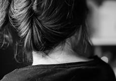 (__AK__) Tags: white black hair neck back noir tee blanc cou