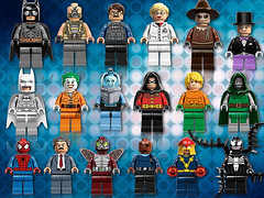 Minifigures Heroes 2013 (THE BRICK TIME Team) Tags: city white brick ice robin toy dc lego ultimate bruce nick scarecrow spiderman fave gordon freeze hero batman joker heroes lantern minifig marvel figures bane spielzeug fury league swat avengers freese venom aquaman arkham minifigures beelte 2013 minifiguren