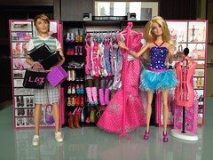 The Barbie Fashionistas Ultimate Closet (Jacob_Webb) Tags: summer closet nikki ultimate ryan ken barbie teresa fashionistas barbiefashionistasultimatecloset racqulle
