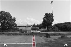 Flieender bergang #2 (ajurgenowski) Tags: germany deutschland europa europe motorway belgium belgique border autobahn toll a3 allemagne frontier belgien zoll a44 grenze grenzenlos withoutborders sansfrontires lichtenbusch zollanlage