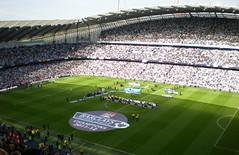 Manchester City Champions 2012 (when the aperture shuts) Tags: champions manchestercity etihadstadium