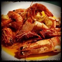 Diner @ Sutukil Mactan Cebu, Philippines (Rhannel Alaba) Tags: food photography philippines cebu mactan iphone sutukil pido alaba rhannel