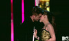 .Robert Pattinson and Kristen Stewart share a kiss 2010 MTV Movie Awards on MTV USA