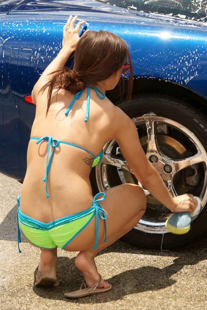 The World's Best Photos of bikinis and wash