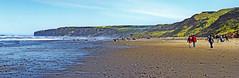 Reighton Beach & Speeton Cliffs Panarama (IanAndrews1957) Tags: sea landscape coast yorkshire northyorkshire reighton speeton