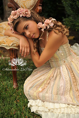 Vintage Roses by Alexandria LaNier [Explored] ~ Getty Images (Alexandria LaNier) Tags: portrait beauty rose fairytale vintage soft child dream fantasy ballett alexandrialanier