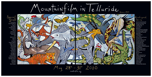 2010 Mountainfilm in Telluride Festival Poster