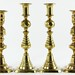 242. Two Pairs of Brass Candlesticks