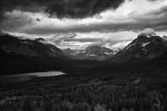 Glacier National Park (filip.molcan) Tags: park leica bw mountain blackwhite united glacier national states np m9