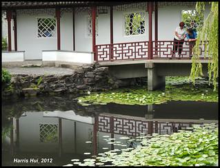 Reflection Dr. Sun Yat Sen Park - Chinatown X1046e