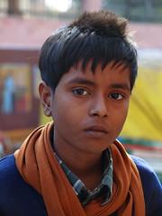 Agra - Boy (sharko333) Tags: voyage travel boy portrait people india asia asien agra olympus asie indien reise e5