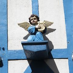 Quimper (29), Rue René Madec (Yvette G.) Tags: ange bretagne 29 colombage quimper angemusicien fnistère