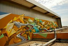 Sbim (GhettoFarceur) Tags: white house trash army graffiti dream ghetto sans ombres ryda gymnase bims farceur psktear