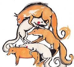 fox pile