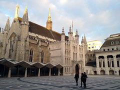 Guildhall Yard (Ana Gasston) Tags: uk building london art museum yard guildhall guildhallyard guildhallartgallery